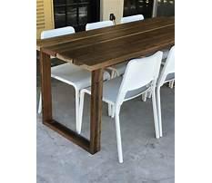 Diy concrete dining table.aspx Plan