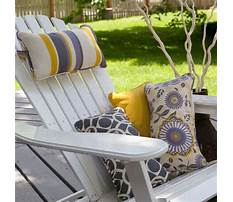 Diy easy chair cushions Plan