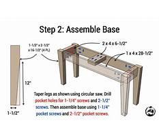 Diy entryway bench plans.aspx Plan