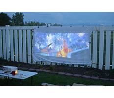 Diy folding projector screen Plan
