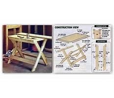 Diy folding work table.aspx Plan