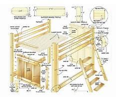 Diy full size loft bed plans.aspx Plan