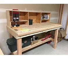 Diy garage workbench Plan