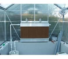 Diy greenhouse evaporative cooler Plan