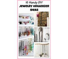 Diy jewelry organizers Plan
