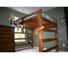 Diy loft bed plans queen Plan