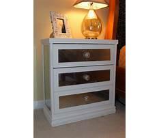 Diy mirrored nightstands ikea hack Plan