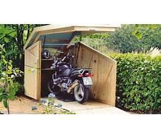 Diy motorcycle shed.aspx Plan