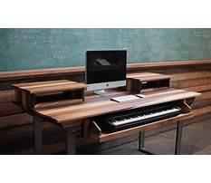 Diy music workstation desk.aspx Plan