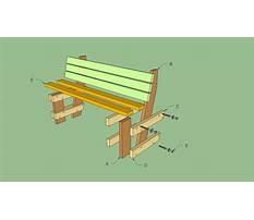 Diy outdoor bench seat plans Plan