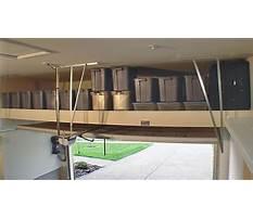 Diy overhead garage storage solutions Plan