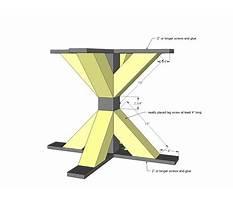 Diy pedestal dining table.aspx Plan