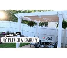 Diy pergola canopy easy outdoor diy lynette yoder Plan