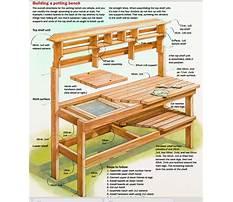 Diy potting bench plans.aspx Plan