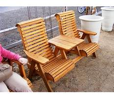 Diy projects wooden porch chair Plan