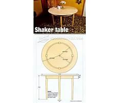 Diy shaker table.aspx Plan