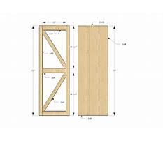 Diy sliding barn door plans.aspx Plan