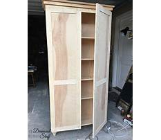 Diy storage cabinets with doors Plan