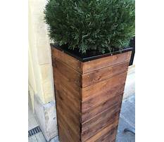 Diy tall planter box Plan