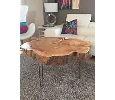 Diy tree stump coffee table.aspx Plan