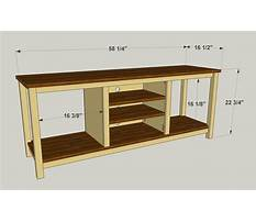 Diy tv stand how to build a tv stand simple wood projects Plan