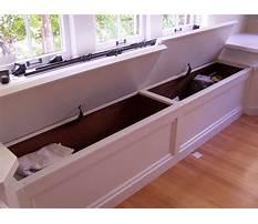 Diy window seat toy box Plan