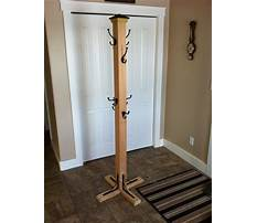 Diy wood coat rack Plan