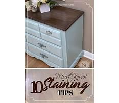 Diy wood furniture staining Plan