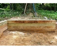 Diy wood retaining wall.aspx Plan
