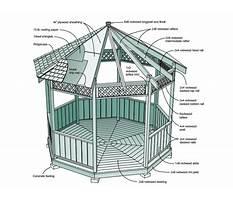 Diy wooden gazebo plans Plan
