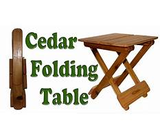 Diy woodworking how to make a folding table Plan