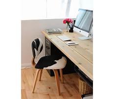 Diy work desk.aspx Plan
