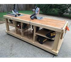 Diy workbench plans garage Plan