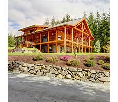 Do it yourself building a log home Plan
