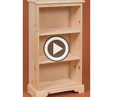 Do it yourself plans for wooden book stand Plan