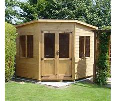 Do storage sheds add value to a home Plan