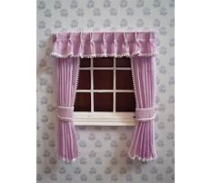 Dollhouse curtain pattern Plan