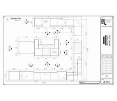 Door cabinet kitchen Plan