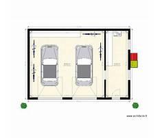 Double garage design Plan