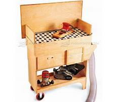 Downdraft table woodworking Plan