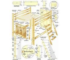 Download free bunk bed plans Plan