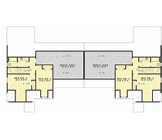 Duplex plans with bonus room Plan
