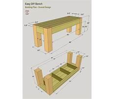 Easy bench plans.aspx Plan