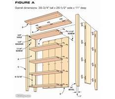 Easy bookcase plans.aspx Plan