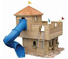 Easy building plans for an kids play castle Plan