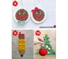 Easy crochet ideas for christmas Plan