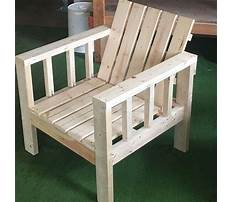 Easy diy outdoor furniture Plan