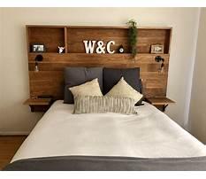 Easy to make wood headboard Plan