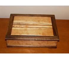Easy woodworking boxes Plan
