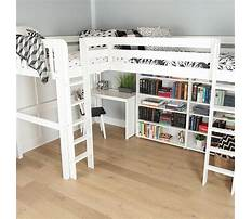 Elevated twin bed plans Plan